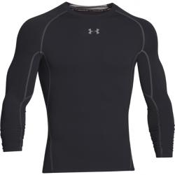 c512e6ee1c9f Pánske tréningové tričko s dlhým rukávom UNDER ARMOUR-UA HG ARMOUR LS-BLK