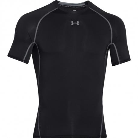Pánske kompresné tričko s krátkym rukávom UNDER ARMOUR-UA HG ARMOUR SS-BLK