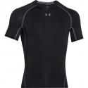Tréningové tričko s krátkym rukávom UNDER ARMOUR-UA HG ARMOUR SS-BLK - Pánske tričko značky Under Armour.