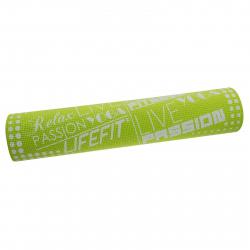 Fitness podložka LIFEFIT-FIT.MAT SLIMFIT+,173x61x0,6,zelena TRL