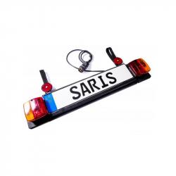 Cyklistický doplnok SARIS Svetelná rampa 7-pól.