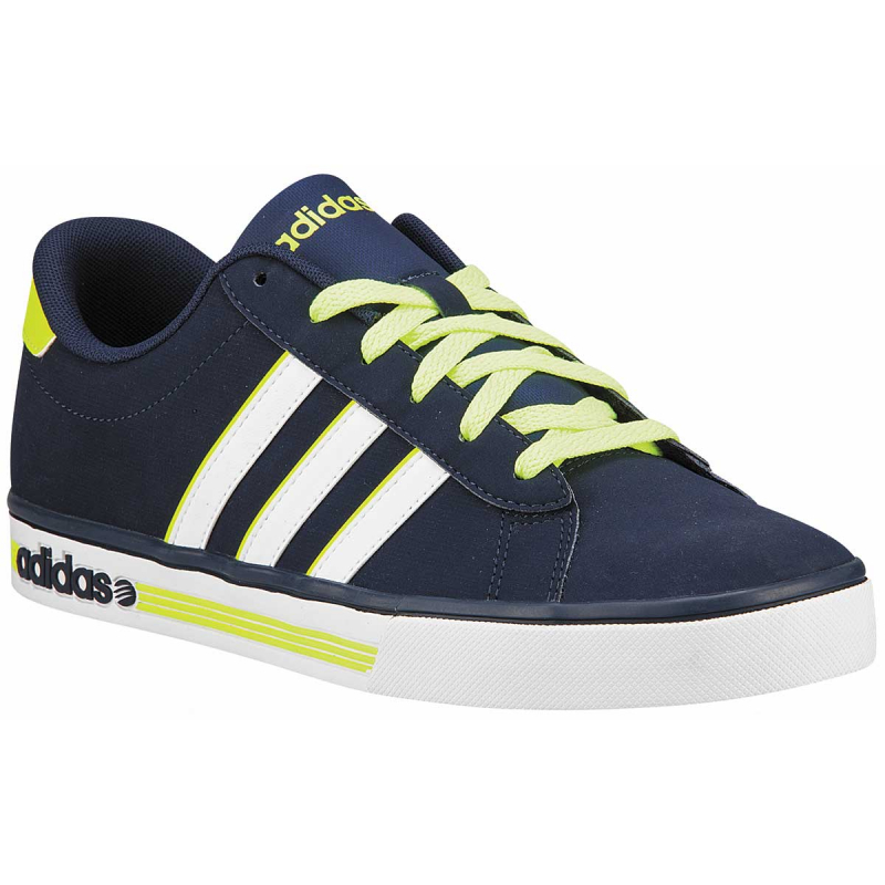 taille 40 ba026 5c3ad ADIDAS NEO-DAILY TEAM/ COLLEGIATE NAVY/FTWR WHITE/SOLAR YELL | EXIsport  Eshop