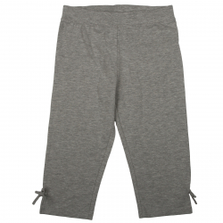 Dievčenské nohavice 3/4 AUTHORITY-SASKA lt grey