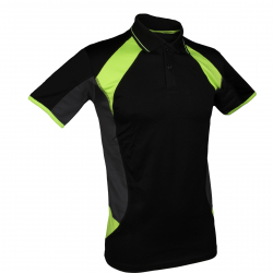Tréningové polo tričko s krátkym rukávom AUTHORITY-DRYLAR black