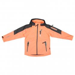 Dievčenská turistická bunda AUTHORITY KIDS-PRO WINDEA G orange