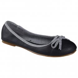 Dámske baleríny (rekreačná obuv) AUTHORITY-Balerinas Blue