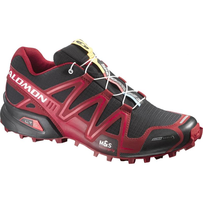 Pánska trailová obuv SALOMON-SPEEDCROSS 3 CS BLACK FLEA White - c29c9bd198b