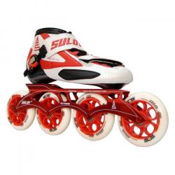 Pánske kolieskové korčule SULOV RSPEED IN-LINE RED TRL