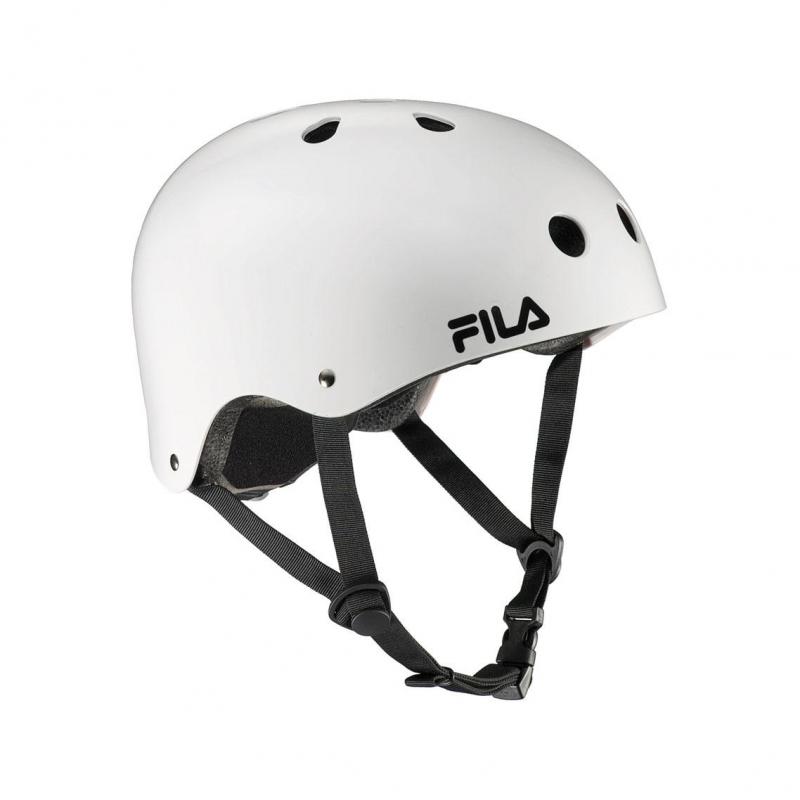 Prilba na korčuľovanie FILA SKATES-NRK HELMET WHITE - Freestyle prilba je vysoko kvalitná bezpečnostná prilba určená pre jazdu na kolieskových korčuliach, bicykli, skateboarde alebo freeride.