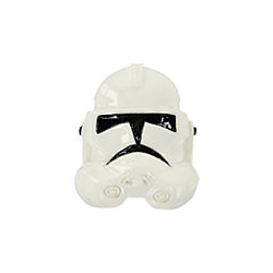 CROCS-Jibbitz -Star Wars Storm Trooper Shiny Helmet