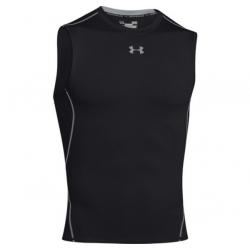 Pánske tréningové tričko s krátkym rukávom UNDER ARMOUR-HEATGEAR SLEEVELESS T-SHIRT