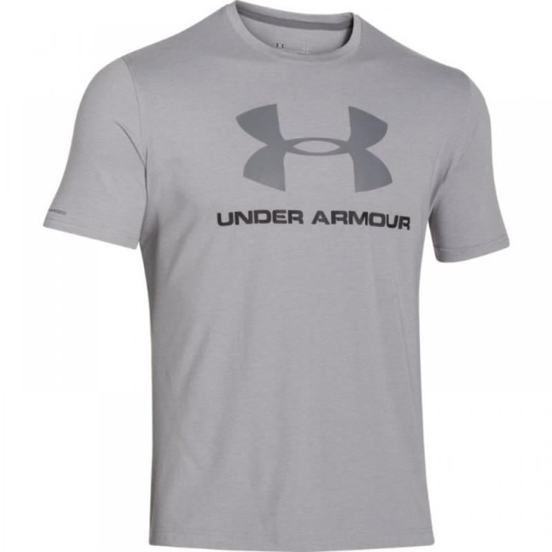 505d4b567276 Tréningové tričko s krátkym rukávom UNDER ARMOUR-SPORTSTYLE LOGO T-SHIRT -