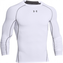 Pánske tréningové tričko s dlhým rukávom UNDER ARMOUR-HEATGEAR LONG SLEEVE COMPRESSION SHIRT 2