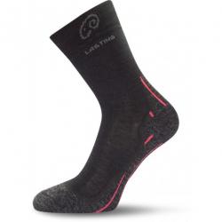 Turistické ponožky LASTING WHI 900 BLACK