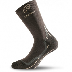 Turistické ponožky LASTING WHI 721 BROWN