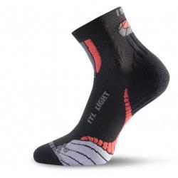 Turistické ponožky LASTING ITL 903 BLACK/RED