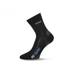 Turistické ponožky LASTING OLI 900 BLACK