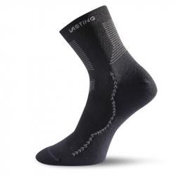 Turistické ponožky LASTING TCA 900 BLACK