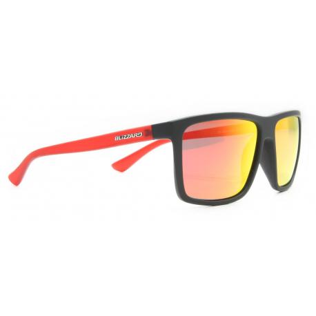 Sportovní brýle BLIZZARD-Sun glasses POL801-126 rubber black, POL, 65-17-140