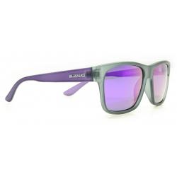 Športové okuliare BLIZZARD-POL802-469 rubber black transparent, POL