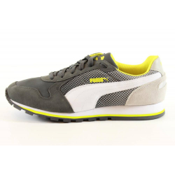 PUMA-ST Runner Shades dark shadow-white-gray