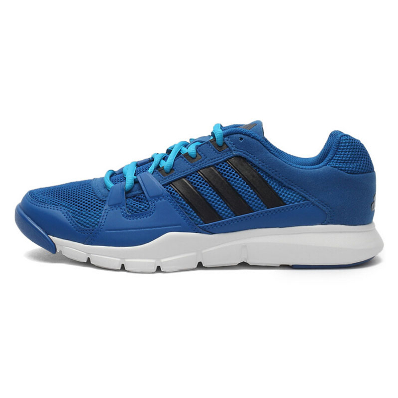 7923bb2891c0d Tréningová obuv ADIDAS-Gym Warrior BLUBEA/BLACK1/SOLBLU - Pánska športová  obuv značky