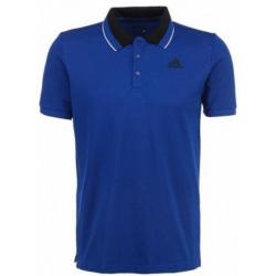 Polo tričko s krátkym rukávom ADIDAS-ESS POLO/ COLLEGIATE ROYAL/BLACK