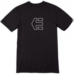Tričko s krátkym rukávom ETNIES-ICON OUTLINE S/S TEE