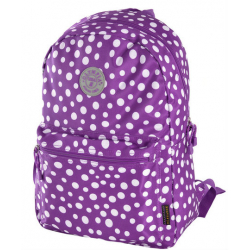 Ruksak OLYMPIA U.S.A Cornell purple dot