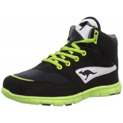 Juniorská rekreačná obuv KangaROOS-BlueRun 2080 black-lime