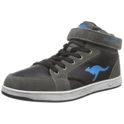 Juniorská rekreačná obuv KangaROOS-Kanga Stuu 2013 gray smaragd