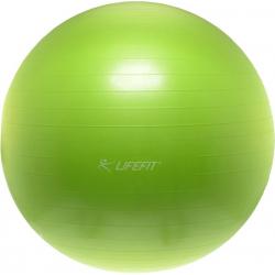 Fitness lopta LIFEFIT GYMNASTICKY MIC,55cm,sv.zeleny