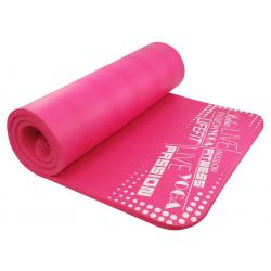 Fitness podložka LIFEFIT YOGA MAT EXKL+,180x60x1,5,ružova