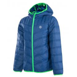 COLOR KIDS-Snake padded jacket estate blue