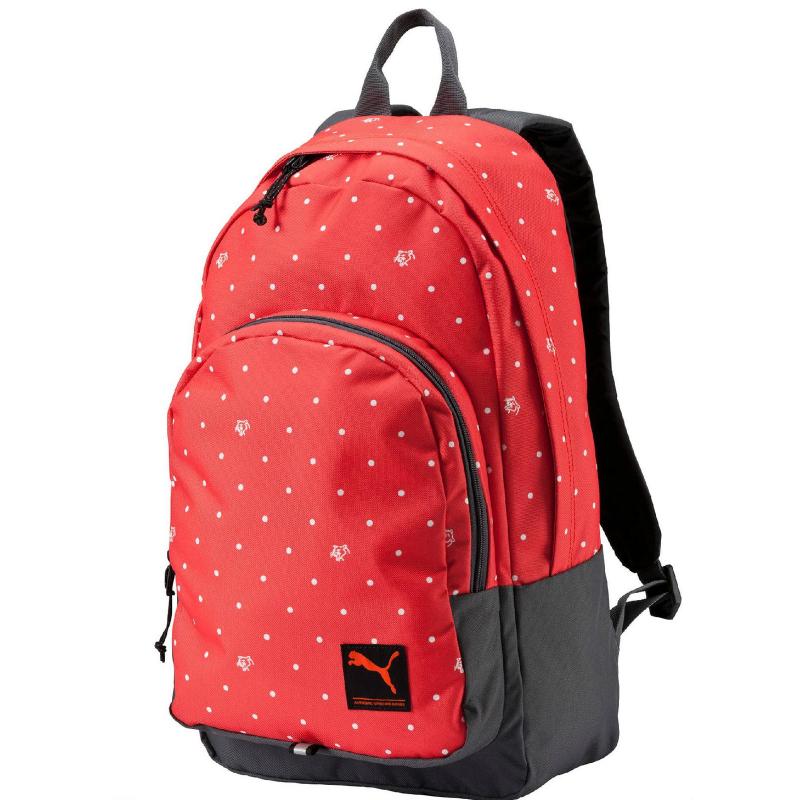 77e0dc384c Ruksak PUMA-PUMA Academy Backpack cayenne-polka dot -