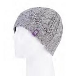 HEAT HOLDERS-Dámska čiapka bledo šedá
