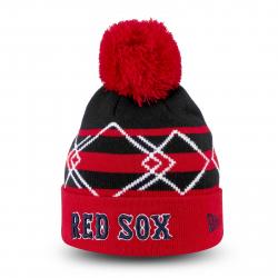 Juniorská zimná čiapka NEW ERA-HO15 KNIT CUFF TEAM HEX CUFF BOSTON RED SOX