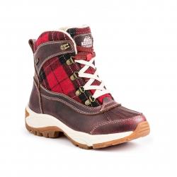 Dámska zimná obuv vysoká KODIAK-ROCHELLE LTHR/PLAID WOOL W.P.