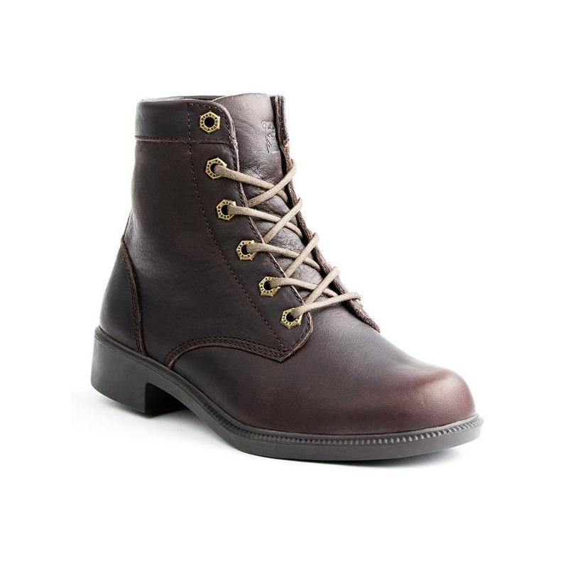 Dámska zimná obuv vysoká KODIAK-ACADIA LEATHER DK BRN HOBNAIL -