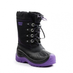 KODIAK-GLO CALI 4 EYELET BLK/PURPLE