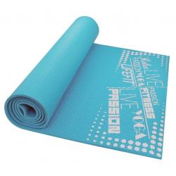 Fitness podložka LIFEFIT-FIT.MAT SLIMFIT+,173x61x0,6,modra TRL