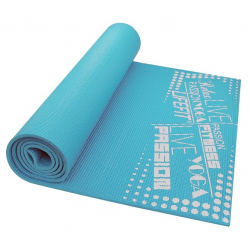Fitness podložka LIFEFIT FIT.MAT SLIMFIT+,173x61x0,6,modra