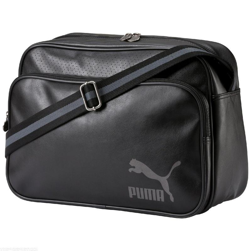 c706b74fd3 Taška cez rameno PUMA-Originals Reporter black-silver metallic -