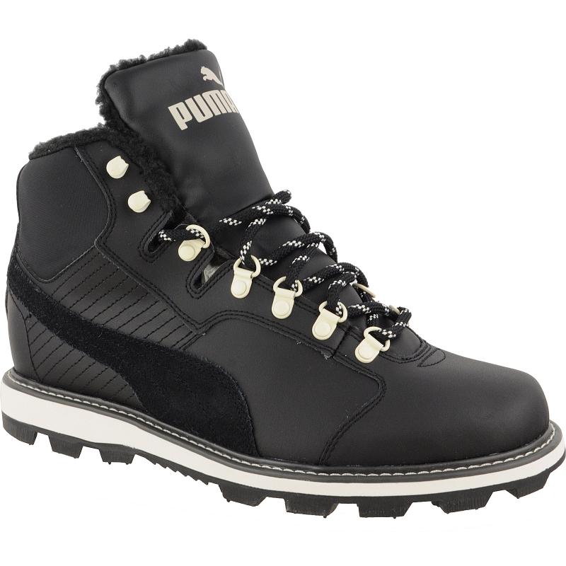 1da32bbaa00e7 Pánska zimná obuv stredná PUMA-Tatau Fur Boot black-black -