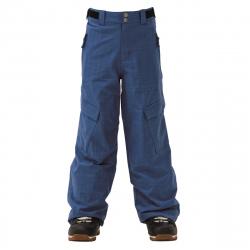 Chlapčenské lyžiarske nohavice REHALL-Yep-jr. bijou blue