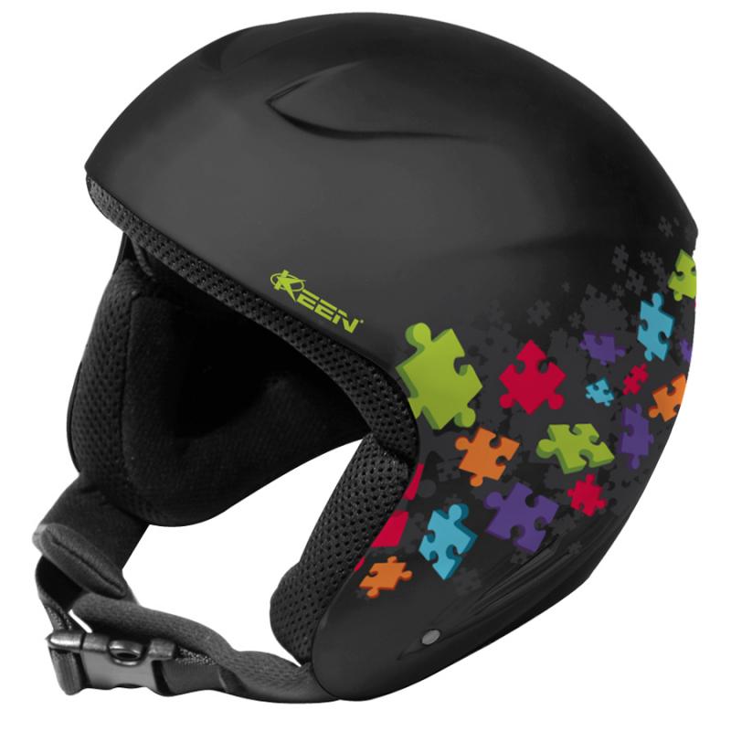 Detská lyžiarska prilba KEEN Detska helma - Puzzle S - Kvalitná detská  helma značky KEEN s 10dce3d8a86