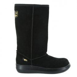 ROCKET DOG-Rocket Dog Sugar Daddy Cow Suede Leather Black
