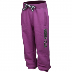 Dievčenské nohavice AUTHORITY-CLUB G violet