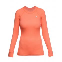 Termo tričko s dlhým rukávom THERMOWAVE-Womens Long sleeve shirt coral