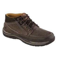 Pánska vychádzková obuv SKECHERS-EXPECTED- CASON chocolate